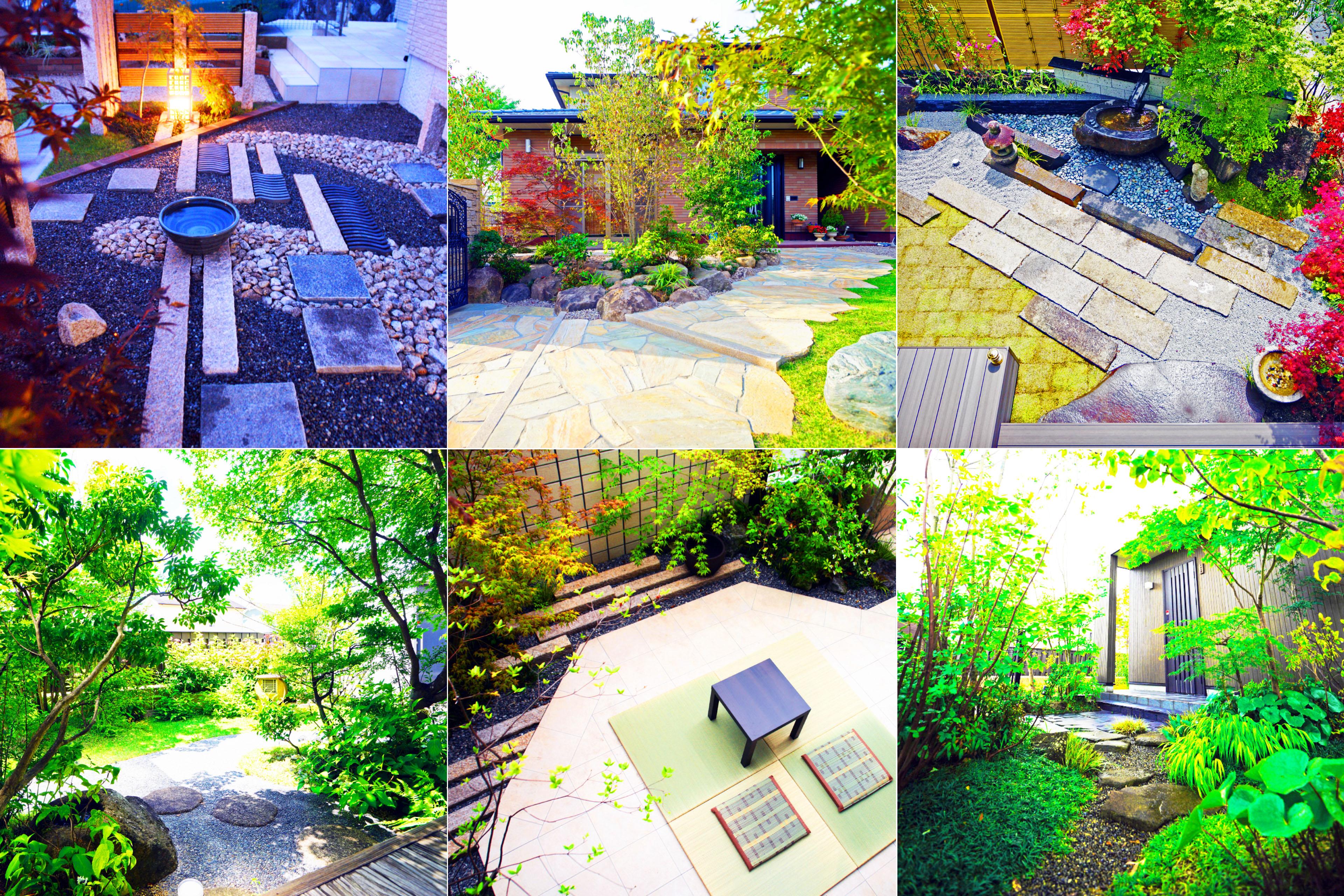 ガーデンの施工事例集1